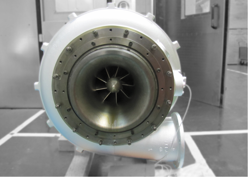 Photo of Turbine overhauled